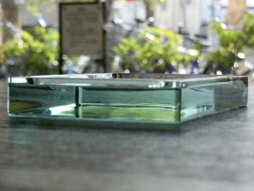 板ガラス硯